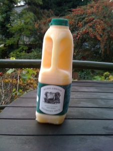 Hurdlebrook Farm (Somerset) Raw Guernsey Milk - my source of raw milk!