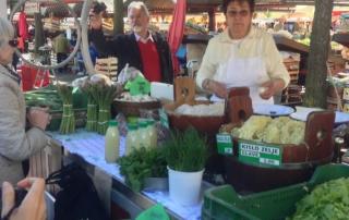 Sauerkraut Stall in Slovenia